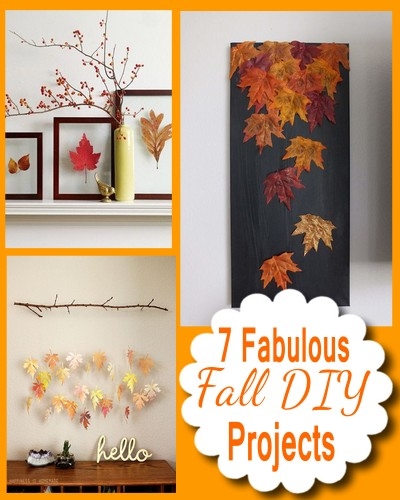 7 Fabulous Fall DIY Home Decor Projects
