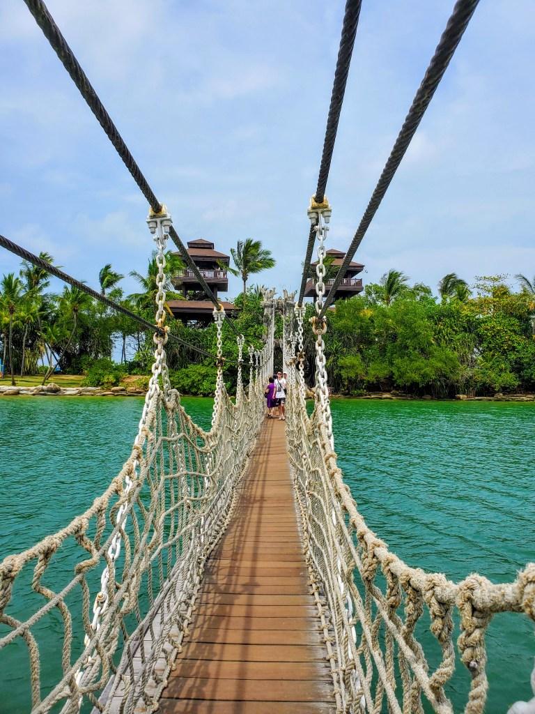 sentosa island bridge