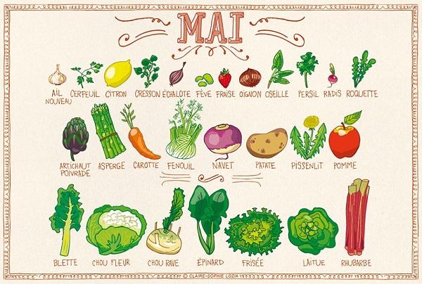 Fruits et légumes Mai - Crédit photo: Site mrmondialisation