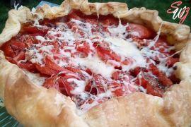 tarte tomates coeur de boeuf