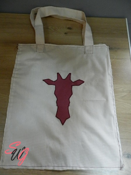 couture tote bag