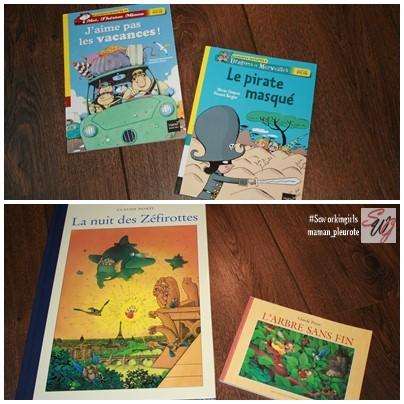 livres pour enfant : à sept ans