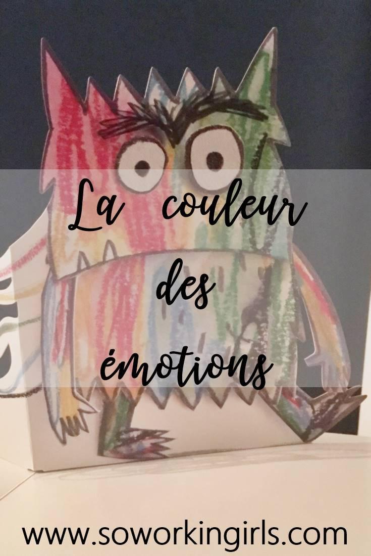 Nous découvrons le livre La couleur des émotions d'Anna Llenas