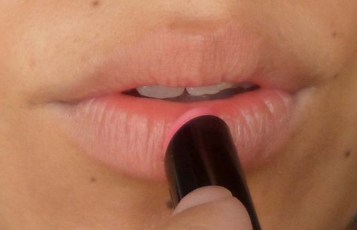Lèvres teintées au baume révélateur de couleur de Sephora
