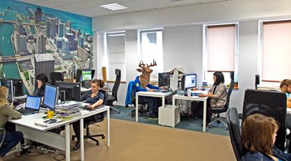 Bureaux de l'entreprise Bimago