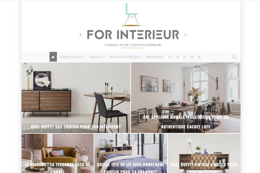Blog de décoration For Intérieur