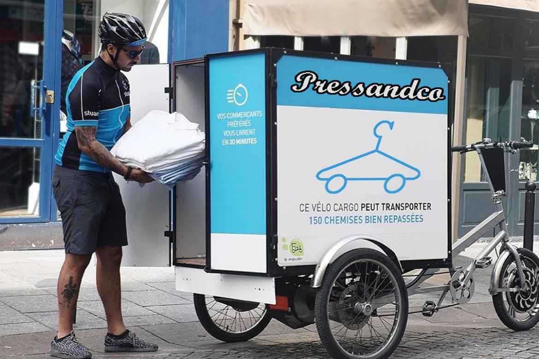 Le pressing à domicile avec Pressandco