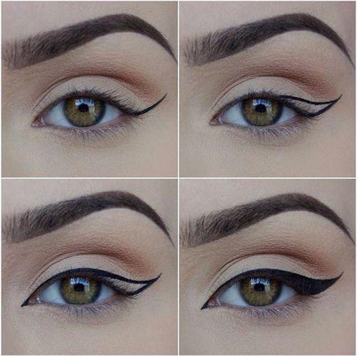 Trait d'eye liner pas à pas