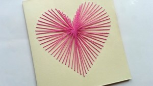 heart string card