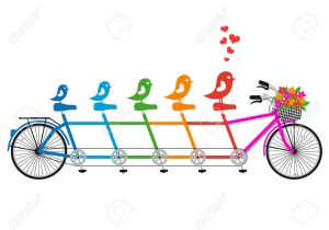 tandam bike