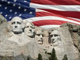 fourth of july mt rushmore