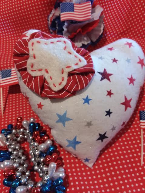 Memorial Day Heart