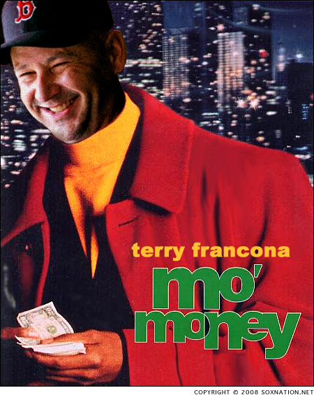 The Red Sox are giving Terry 'Tito' Francona Mo' Money!