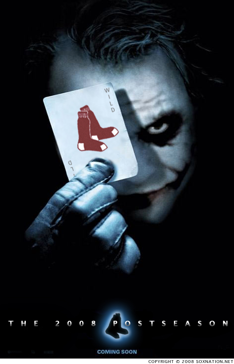 The Joker is wild about the Red Sox