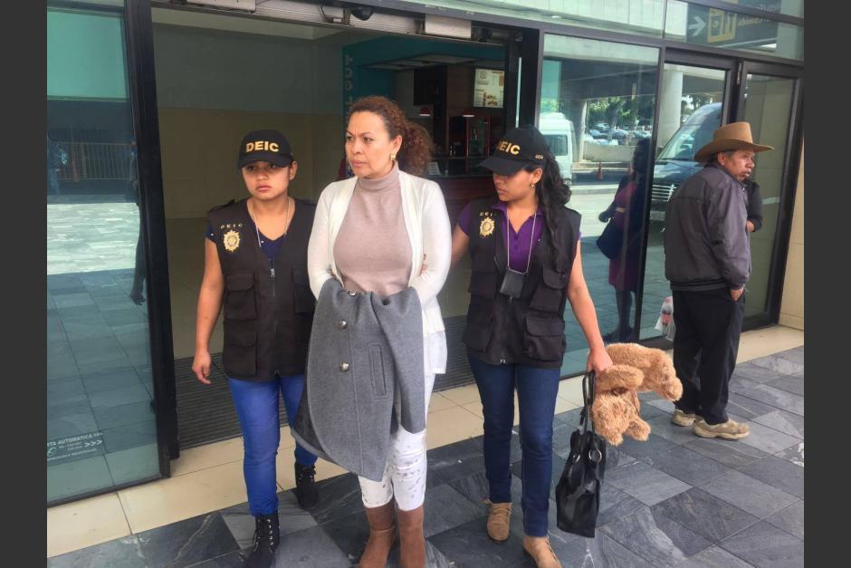 La mujer fue detenida en 2016 a su regreso a Guatemala. (Foto: archivo/PNC)