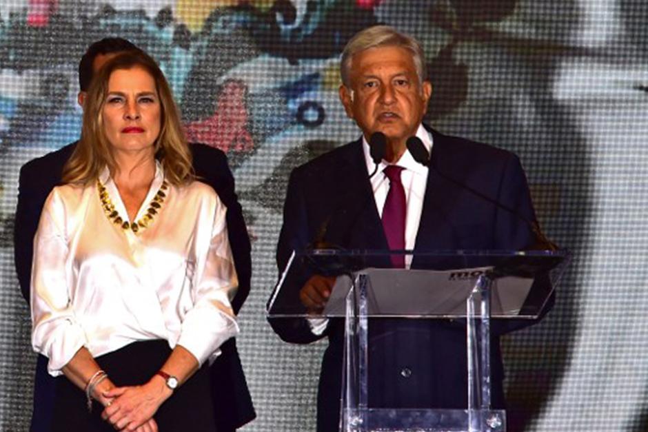 Beatriz Gutiérrez Müller es la esposa del futuro presidente de México (Foto: AFP)