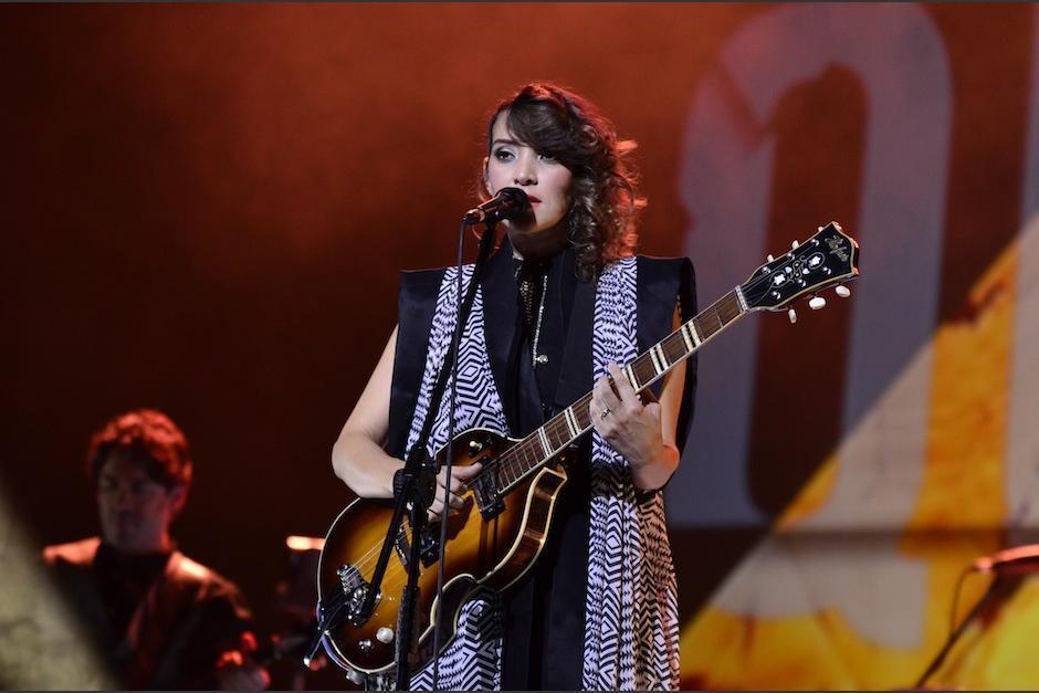 Gaby Moreno dará conciertos a beneficio de los damnificados. (Foto: archivo)