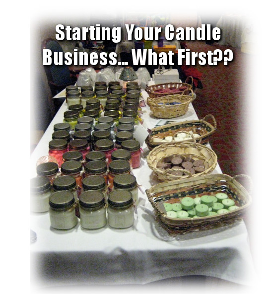 Starting a Candle Making Business