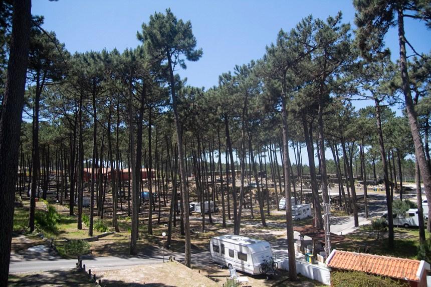 Parcelas en el camping Vale Paraiso
