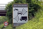 Radares de velocidad en Francia