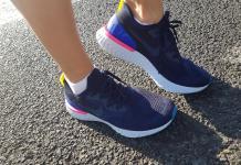 Nike React son para las competencias