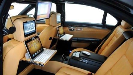 custommercedes e1282919644164 Brabus llena de Apple un Mercedes