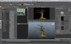 maya2011 osx 64bit support 1 large 1400x875 640x400 300x187 Autodesk lanza Maya 2011 para Mac