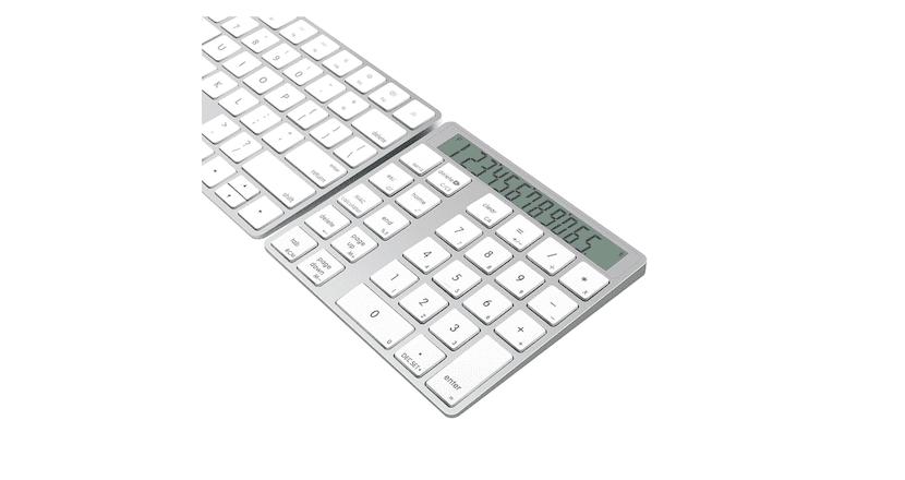 Añade a tu Mac una calculadora y un teclado numérico con