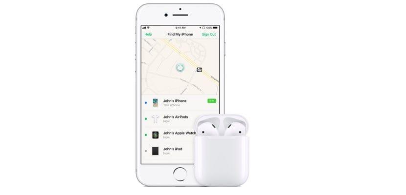 Cómo usar 'Buscar mi iPhone' para encontrar los AirPods
