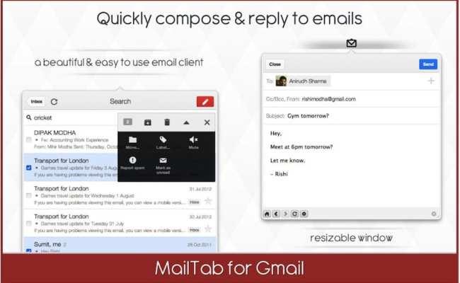 Gestiona Tu Correo De Gmail Desde La Barra De Menús Con
