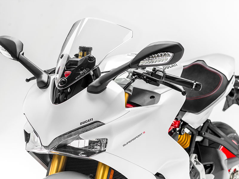 Ducati Supersport 2017 detalle