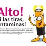 Las pilas contaminan