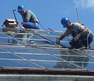 Las renovables traen empleo VERDE.