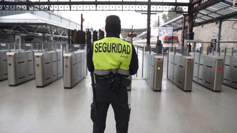 Vigilante de Seguridad en Renfe Cercanias