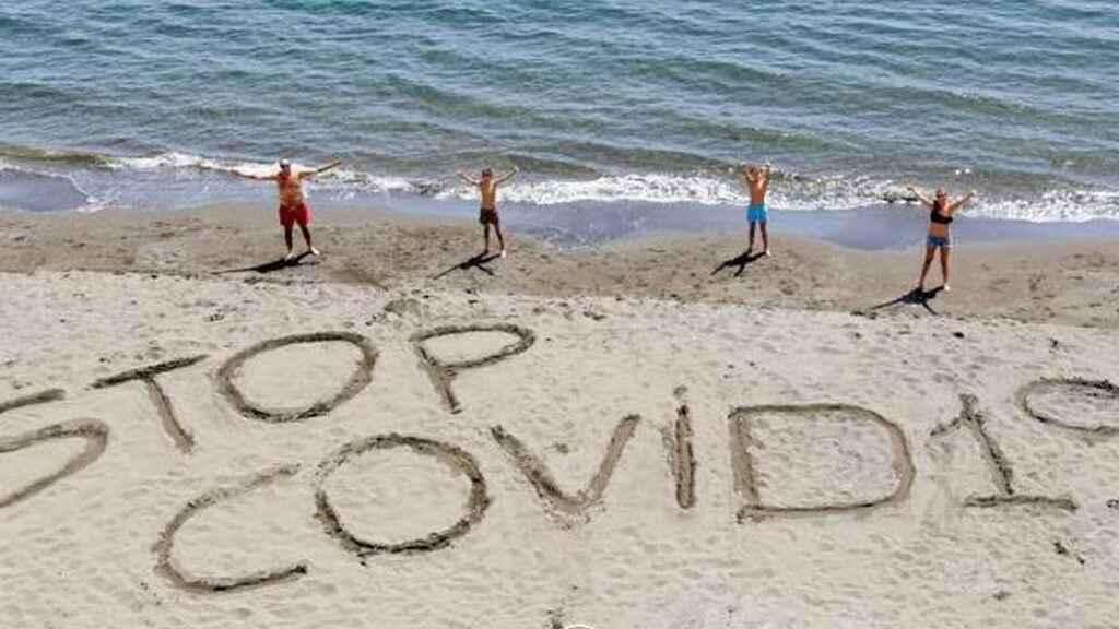 Vigilantes de la playa de Andalucía