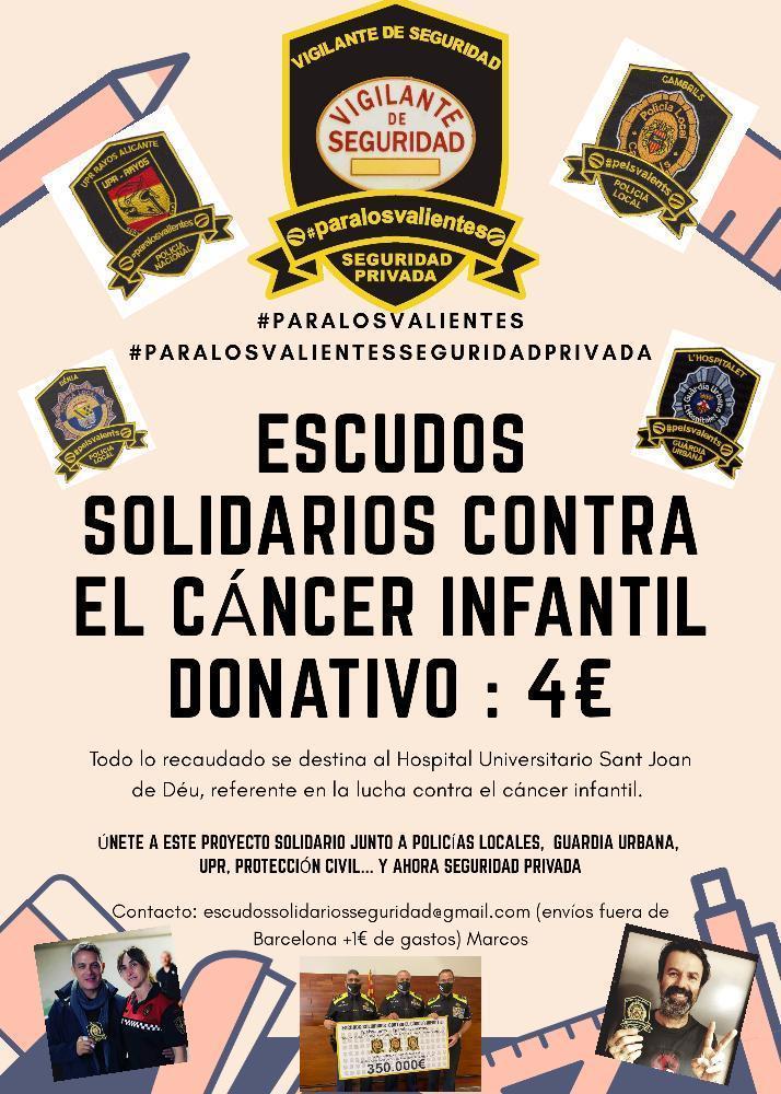 """Parches solidarios """"para los valientes"""""""