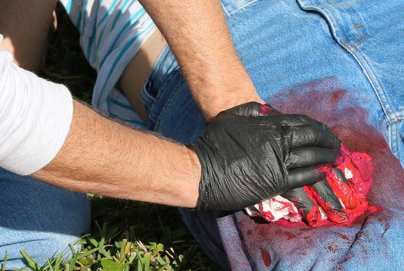 Primeros auxilios: hemorragia interna