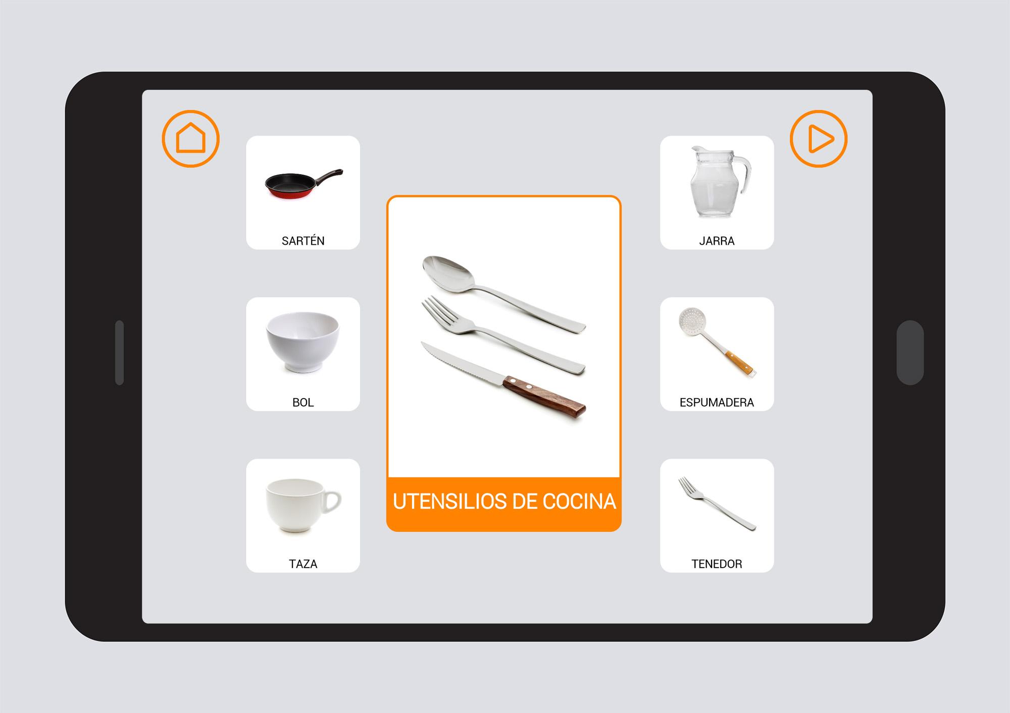 Utensilios de cocina Campos Semnticos Soyvisual