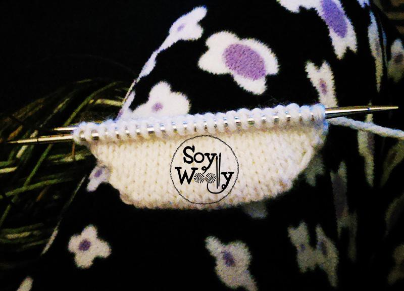 Tejer calcetines que empiezan por la punta