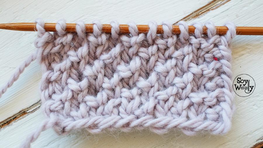 Tricotar puntos de invierno-Soy Woolly