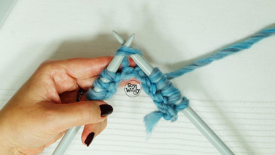 Resolver problemas del tejido dos agujas tricot palillos