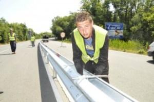 Няма нито една катастрофа това лято по оградената с мантинела отсечка по пътя Бургас-Созопол 1