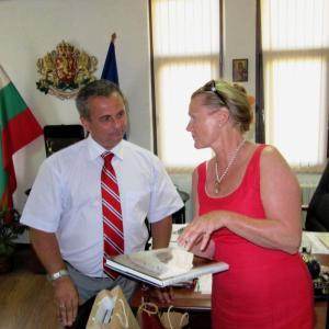 Кметът на Созопол се срещна с посланика на Норвегия 1