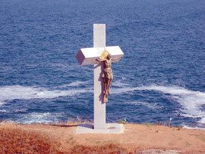 Aкция - 5-метров Христос чака данъчните в Созопол 6