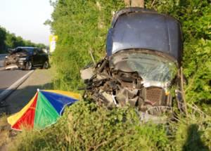 Катастрофа на пътя Бургас-Созопол отне човешки живот 3