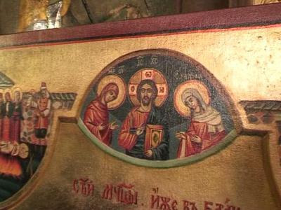 """Иконата """"Мъчениците от Батак"""" - дарение на църквата """"Св. Св. Кирил и Методий в Созопол 1"""