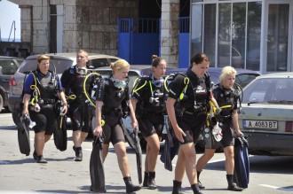 Дамски клуб по гмуркане превзема морските дълбини край Созопол 1