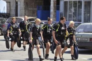 Дамски клуб по гмуркане превзема морските дълбини край Созопол 2