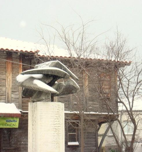 Пътстрой ще чисти снега в община Созопол 2