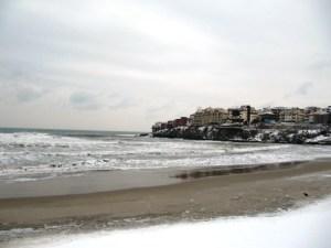 Созопол овладя първият сериозен снеговалеж 7